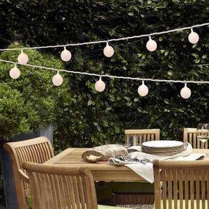 Paper Lantern String Lights New 2 Sets 4 Vanity